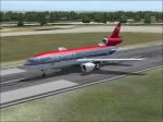 FS2004 DC-10 out of SeaTac