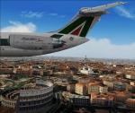 Rear Engine Alitalia Super 80