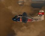 VX-5 COD inbound to SFO
