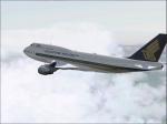 Lonely Singapore B747 9V-SMR