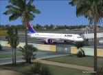 Delta 757-200 at St.Maarten