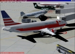 Family Virtual Airlines Boeing 737-400 in Boise