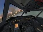 Dash8 over Lampedusa... vc