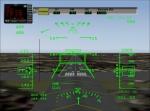 HUD view of Sr71 landing.