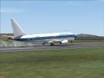 American Pacific 737 Landing