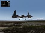 Landing at Beal Afb