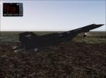 SR71 landing at Mildenall.