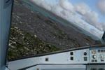 Visual approach and landing at Rio de Janeiro (Galeão) Airbus A320