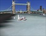 Float Plane in River Thames