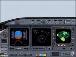 LearJet 2D Panel