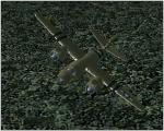 B-26B-55MA Low flight left turn