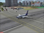 Malev 737 on Runway