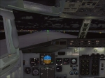 737 Cockpit taxi to 24L