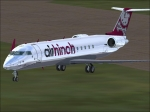 Air Hinch CRJ-200 from front