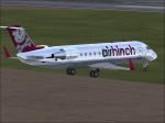 Air Hinch CRJ-200 from rear