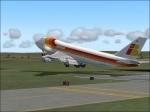 iberia takeoff