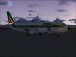 Alitalia part 2: Loading Cargo