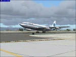 Captainsim 707 take-off