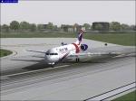Turning on runway