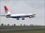 Boeing 707 take-off