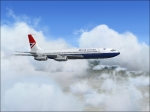Boeing 707 cruise