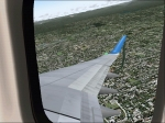 Wing View whilst banking