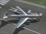 Turning on the runway