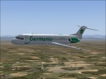 Germania Fokker 100