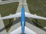 A380 dwarfing other traffic