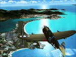 P-47 At St. Marteen