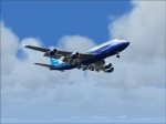 747 Queen of the skies doing some touch and go