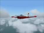 Bonanza A36 cruising