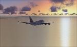 Air China 747 towards Hong Kong
