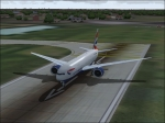 BA 777 Cleared for take off