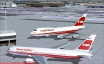TWA 747 SP Boston Express visits KJFK