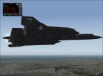 SR71 in flight
