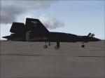 SR71-Blackbird Manchester airport