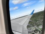 Boeing 737-800 Climbing away