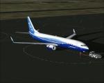 Boeing 737 POSKY in-flight on ground