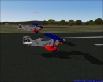 Royal Flush twin aircraft landing