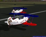 Royal Flush rolling down runway