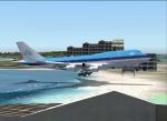 St Maarten landing!