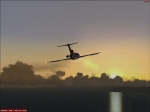 Captain Sims 727 - Off into the sunset