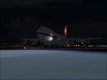 swissair landing