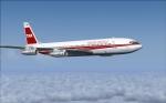 TWA B707-331B FL410