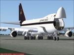 UPS 747 awaiting Cargo
