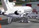 727-200 at St. Maarten Gate