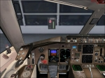 B757-200 Virtual Cockpit at terminal