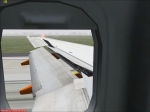 Wing View CAT III autoland Dublin
