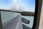 Wing view from RFP's LH 747-200